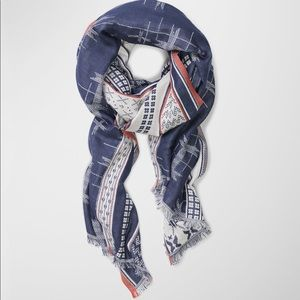 NWT Wilfred Katagami rectangle scarf